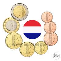 Alankomaat 1s - 2 € 2014 UNC