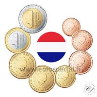 Alankomaat 1s - 2 € 2011 UNC