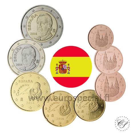 Espanja 1s - 2 € 2001 UNC