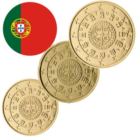 Portugali 10s, 20s & 50s 2007 BU kapseleissa