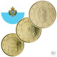 San Marino 10s, 20s & 50s 2019 BU kapseleissa