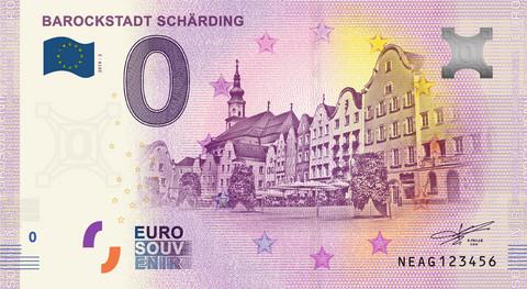 Itävalta 0 € 2019 Barokkikaupunki Scharding UNC