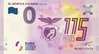 Portugali 0 € 2019 Benfica 150 vuotta UNC
