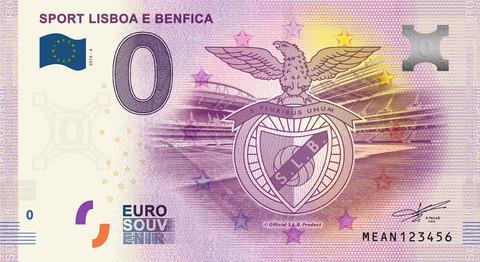 Portugali 0 € 2019 Sport Lisboa e Benfica UNC