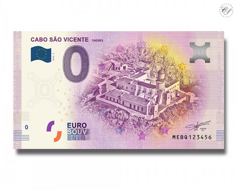 Portugali 0 € 2019 Cabo Sao Vicente Sagres UNC