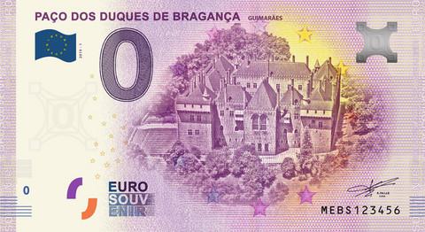 Portugali 0 € 2019 Paco dos Duques de Braganca
