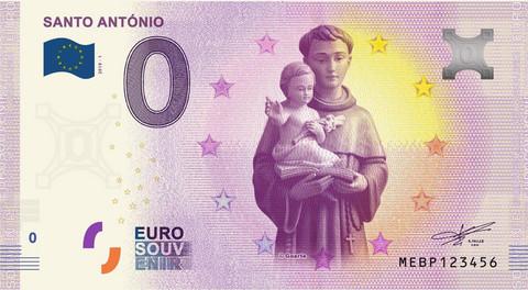 Portugali 0 € 2019 Santo António UNC