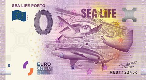 Portugali 0 € 2019 Sealife Porto UNC