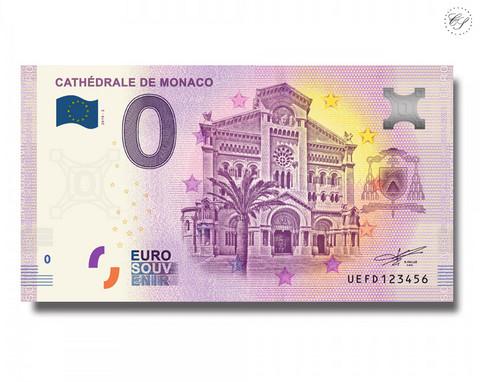 Monaco 0 € 2019 Cathédrale de Monaco UNC