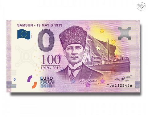 Turkki 0 € 2019 Samsun  - 23 Mayis 1919 UNC