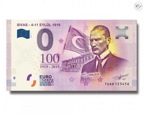 Turkki 0 € 2019 Sivas - Eylul 1919 UNC