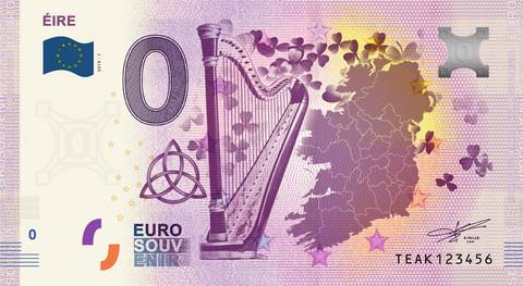 Irlanti 0 € 2019 Éire UNC