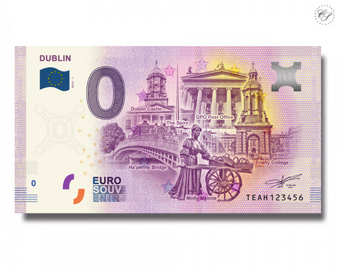 Irlanti 0 € 2019 Dublin UNC