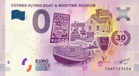 Irlanti 0 € 2019 Foynesin lentävä laiva & museo UNC