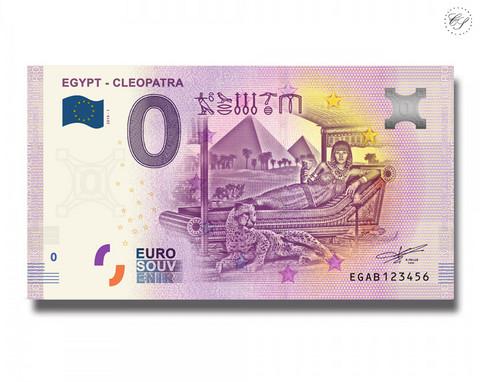 Egypti 0 € 2019 Cleopatra UNC