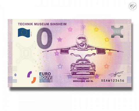 Saksa 0 € 2019 Sinsheimin teknillinen museo