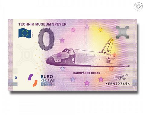 Saksa 0 € 2019 Speyerin teknillinen museo