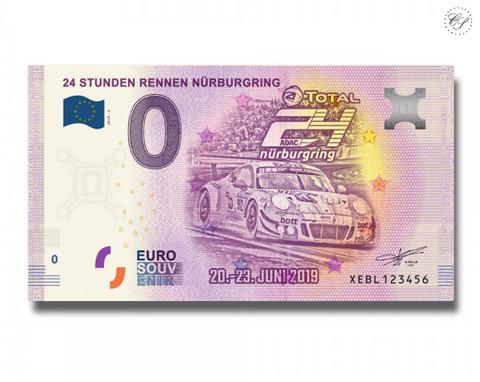 Saksa 0 € 2019 Nürburgringin 24 tunnin ajo