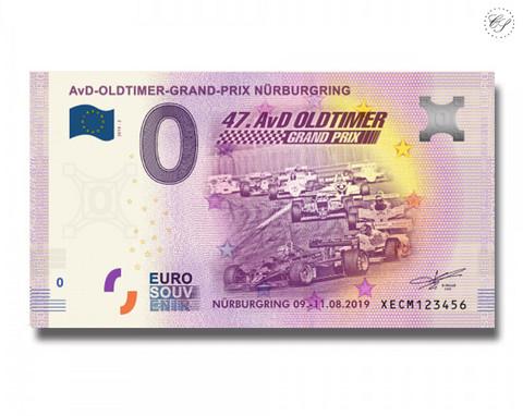 Saksa 0 € 2019 Nürburgring AVD-oldtimer UNC