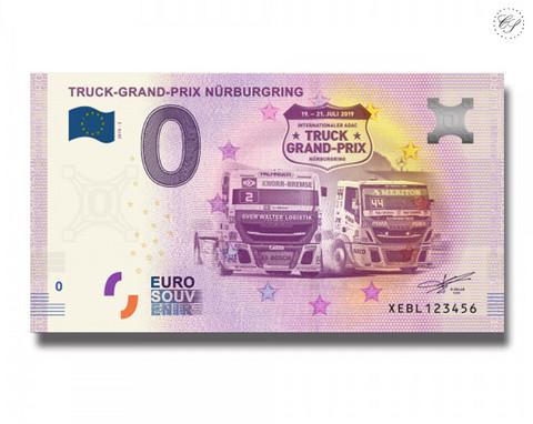 Saksa 0 € 2019 Nürburgringin Truck-GP UNC
