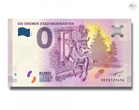 Saksa 0 € 2019 Die Bremer Stadtmusikanten UNC