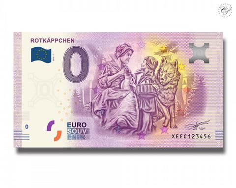 Saksa 0 € 2019 Rotkäppchen UNC