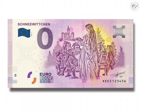 Saksa 0 € 2019 Schneewittchen UNC
