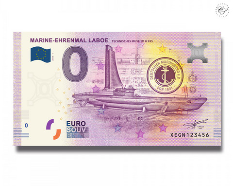 Saksa 0 € 2019 Marine-Ehrenmal Laboe UNC