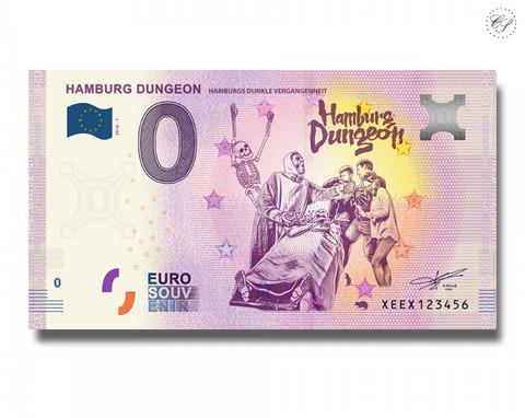 Saksa 0 € 2019 Hampurin vankityrmät UNC