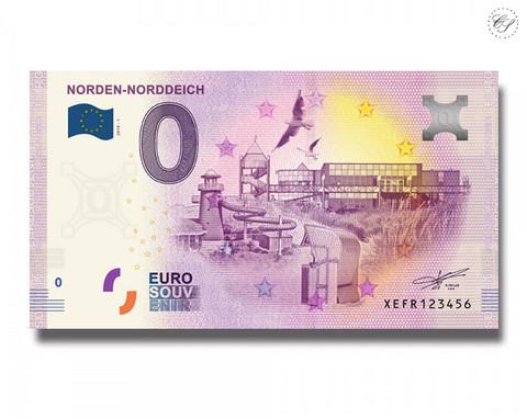 Saksa 0 € 2019 Norden-Norddeich UNC