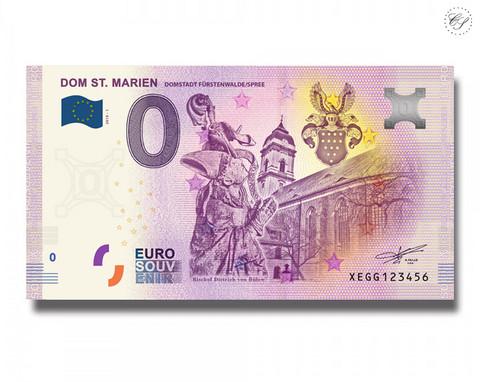 Saksa 0 € 2019 Dom St. Marien UNC