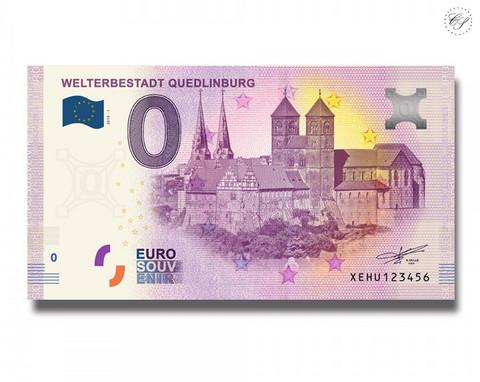 Saksa 0 € 2019 Welterbestadt Quedlinburg UNC