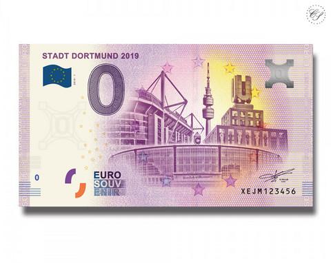 Saksa 0 € 2019 Dortmundin kaupunki UNC