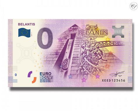 Saksa 0 € 2019 Belantis UNC