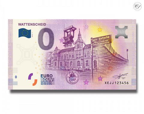 Saksa 0 € 2019 Wattenscheid UNC