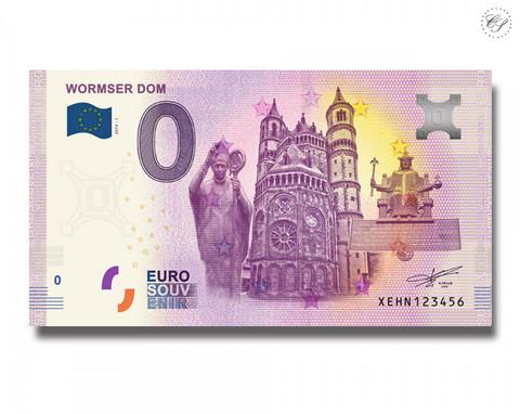 Saksa 0 € 2019 Wormser Dom UNC