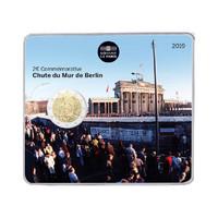 Ranska 2 € 2019 Berliinin muuri 30 v. BU coincard