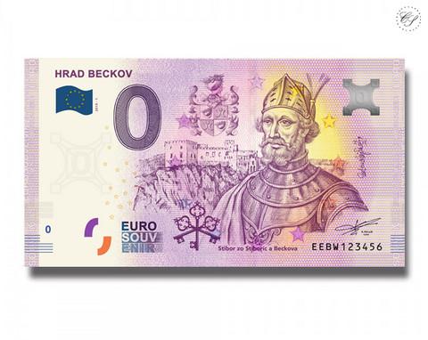 Slovakia 0 € 2019 Hrad Beckov UNC