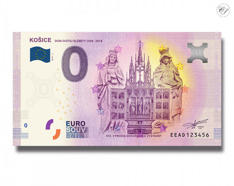 Slovakia 0 € 2019 Kosicky Zlaty Poklad UNC