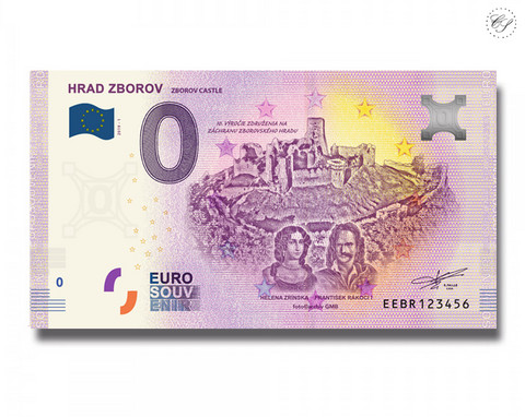Slovakia 0 € 2019 Grad Zborov UNC