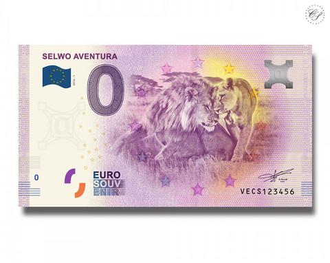 Espanja 0 € 2019 Leijonaseteli - Selwo Aventura
