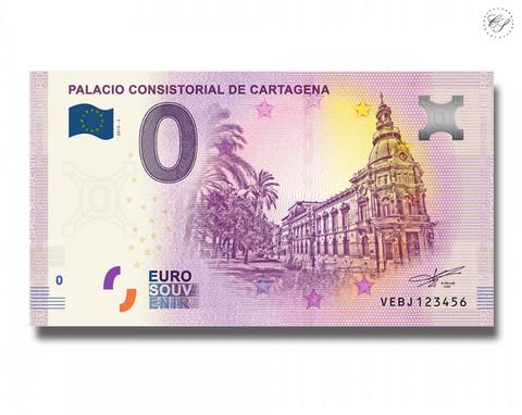 Espanja 0 € 2019 Palacio de CartagenaUNC