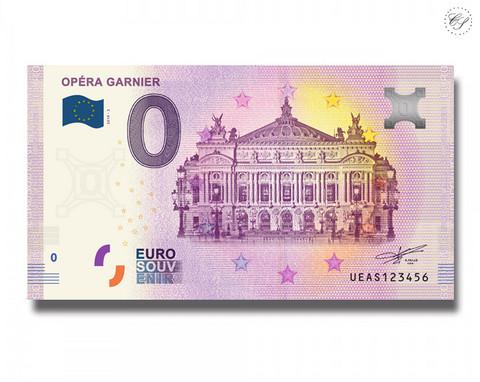 Ranska 0 € 2019 Opéra Garnier UNC