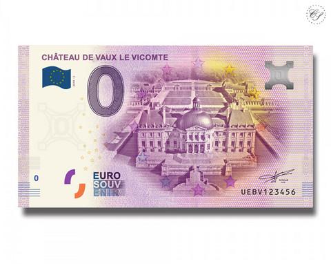 Ranska 0 € 2019 Chaetau de Vaux le Vicomte UNC