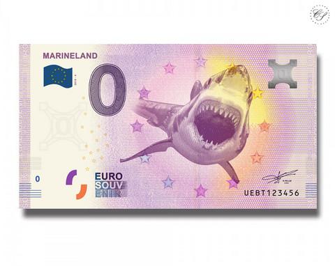 Ranska 0 € 2019 Aquarium Biarritz - Requin Gris UNC