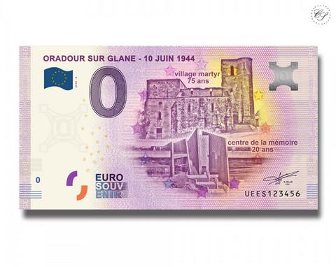 Ranska 0 € 2019 Oradour sur Glane - 10.6.1944
