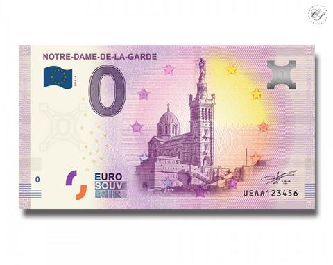 Ranska 0 € 2019 Notre Dame de la Garde UNC