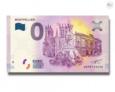 Ranska 0 € 2019 Montpellier UNC