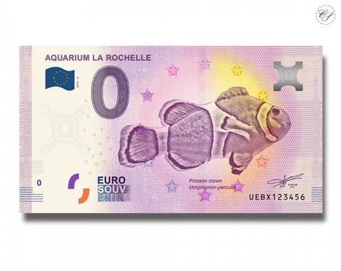 Ranska 0 € 2019 Aquarium la Rochelle UNC