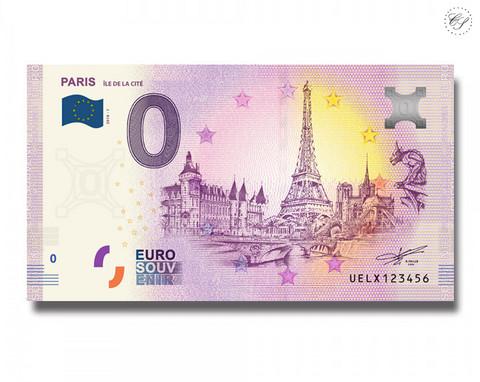 Ranska 0 € 2019 Paris Íle de la Cíte UNC